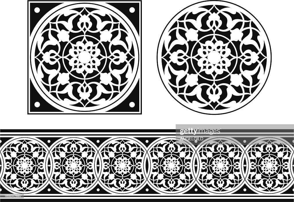 Tile and Frieze design