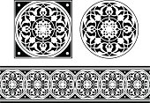 Tile and Frieze design
