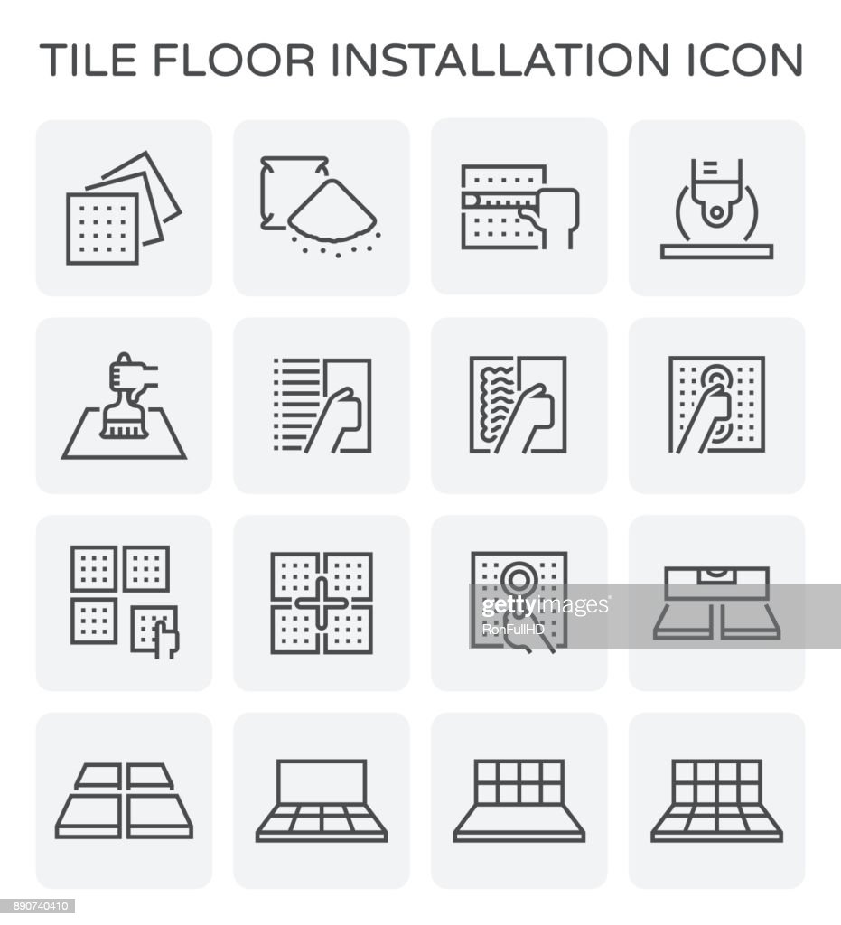 tile floor icon
