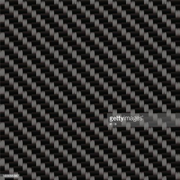 Tileable Carbonfaser gewebt Blatt-Muster