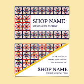 Tiles shop identity template design