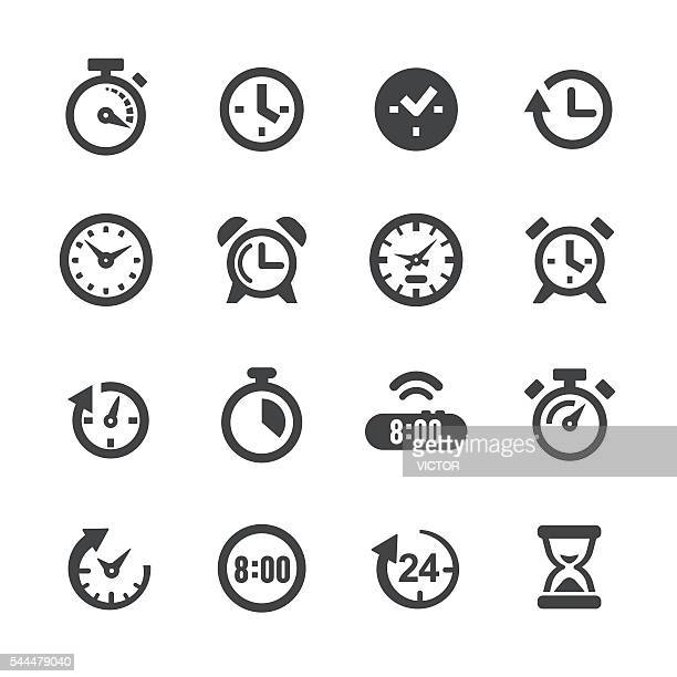 Time and Clock Icons - Acme Series