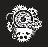 time clock mechanism