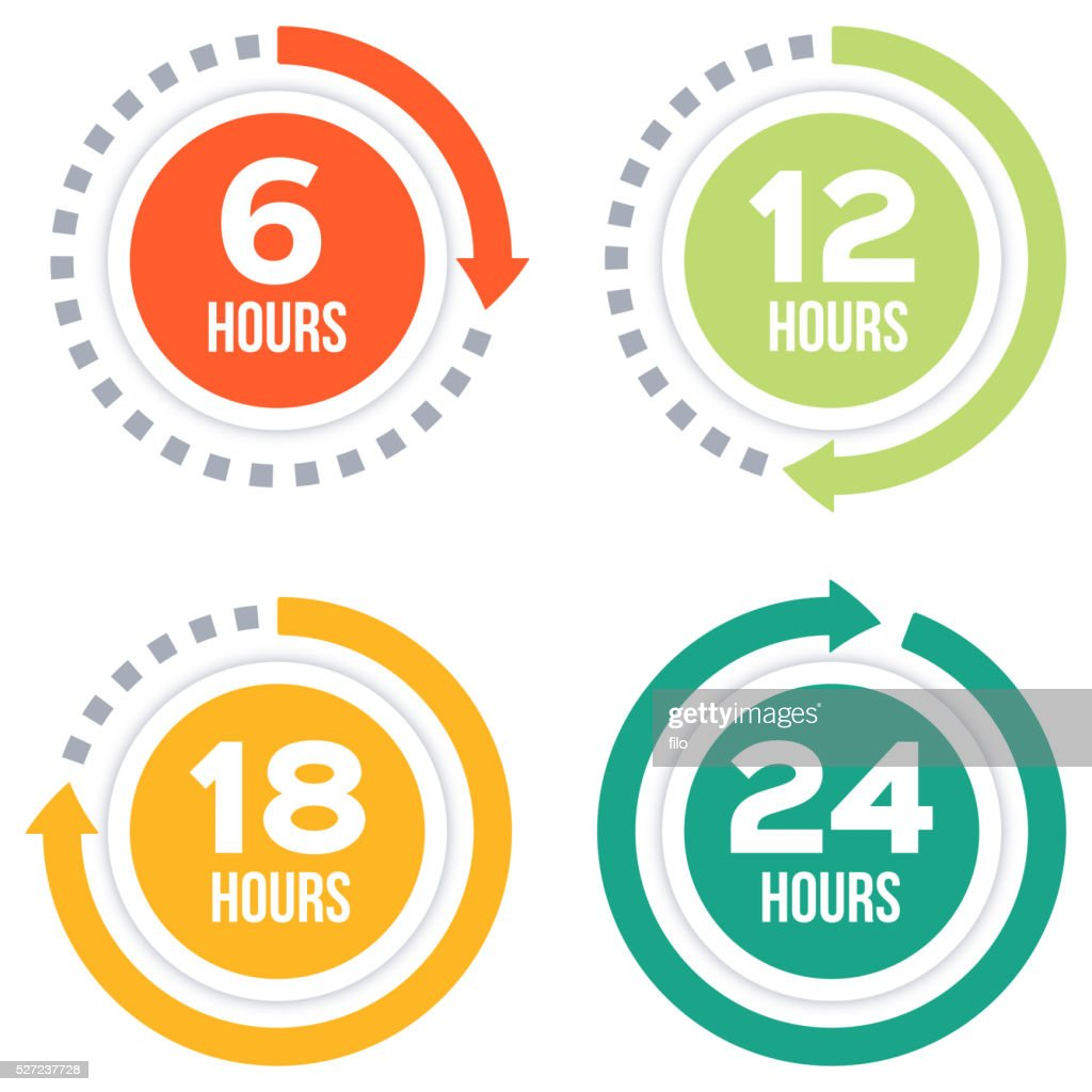 Time Elapsed Arrow Concepts : stock illustration
