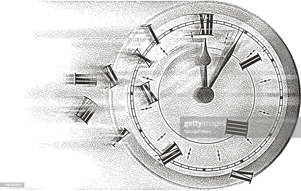 Time Flies : stock illustration