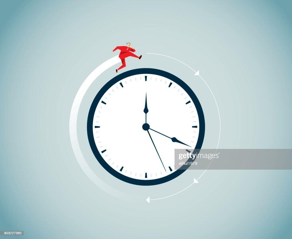 time flies : stock illustration