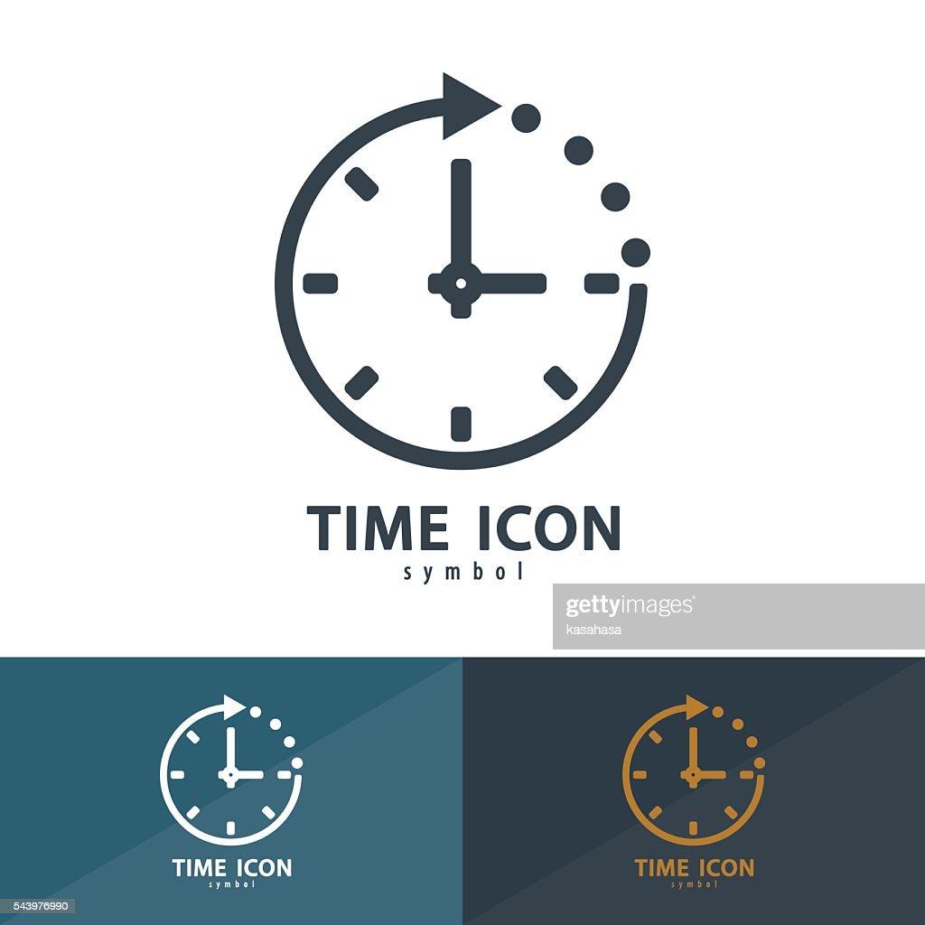 Time icon symbol