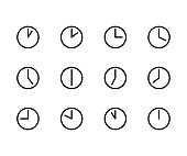 Time Icons 24h
