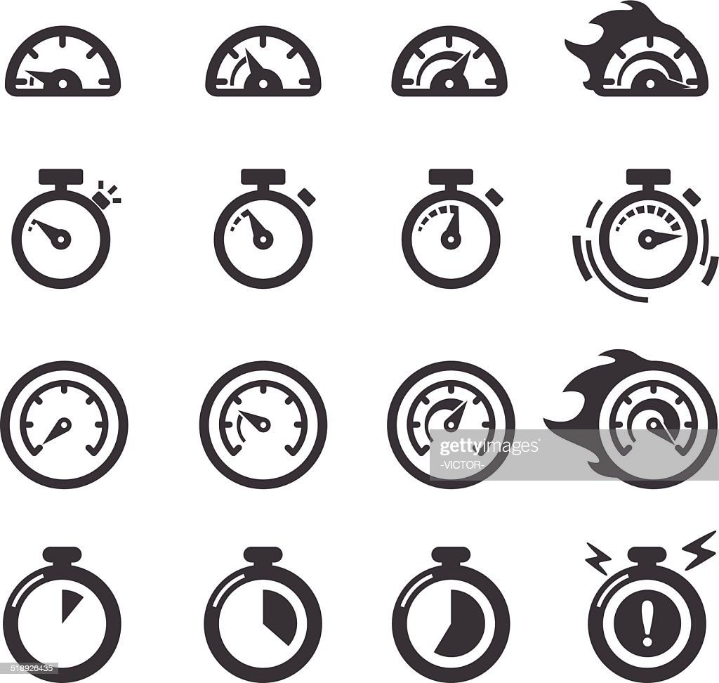 Time Icons - Acme Series