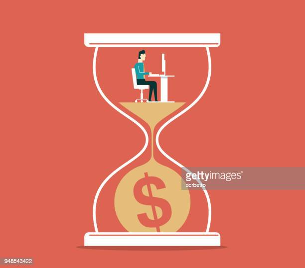 Time is money - Businessman