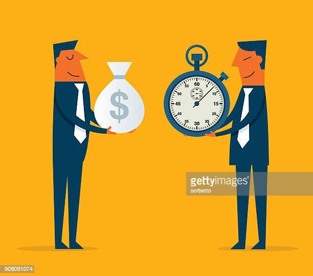 illustrations, cliparts, dessins animés et icônes de temps est de l'argent - retraite