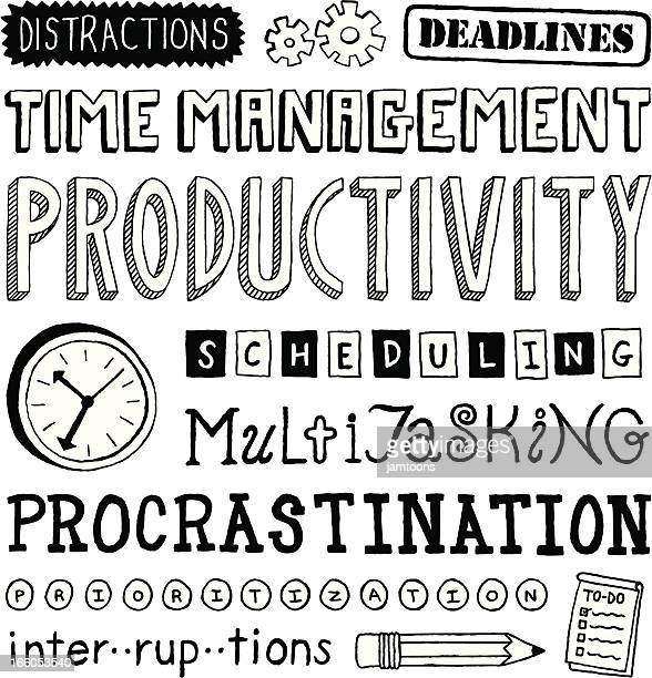 time management text - to do list stock illustrations, clip art, cartoons, & icons