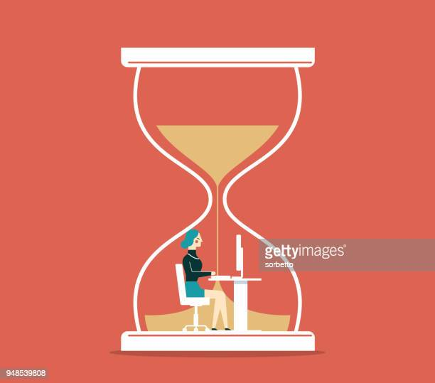 Time pressure - Businesswoman