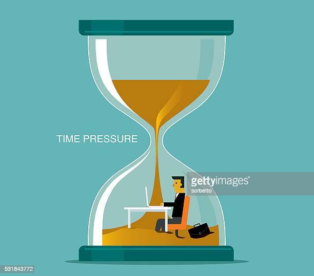 illustrations, cliparts, dessins animés et icônes de la pression des délais - temps limité