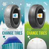 Time to change tires - Winter and sumer tires