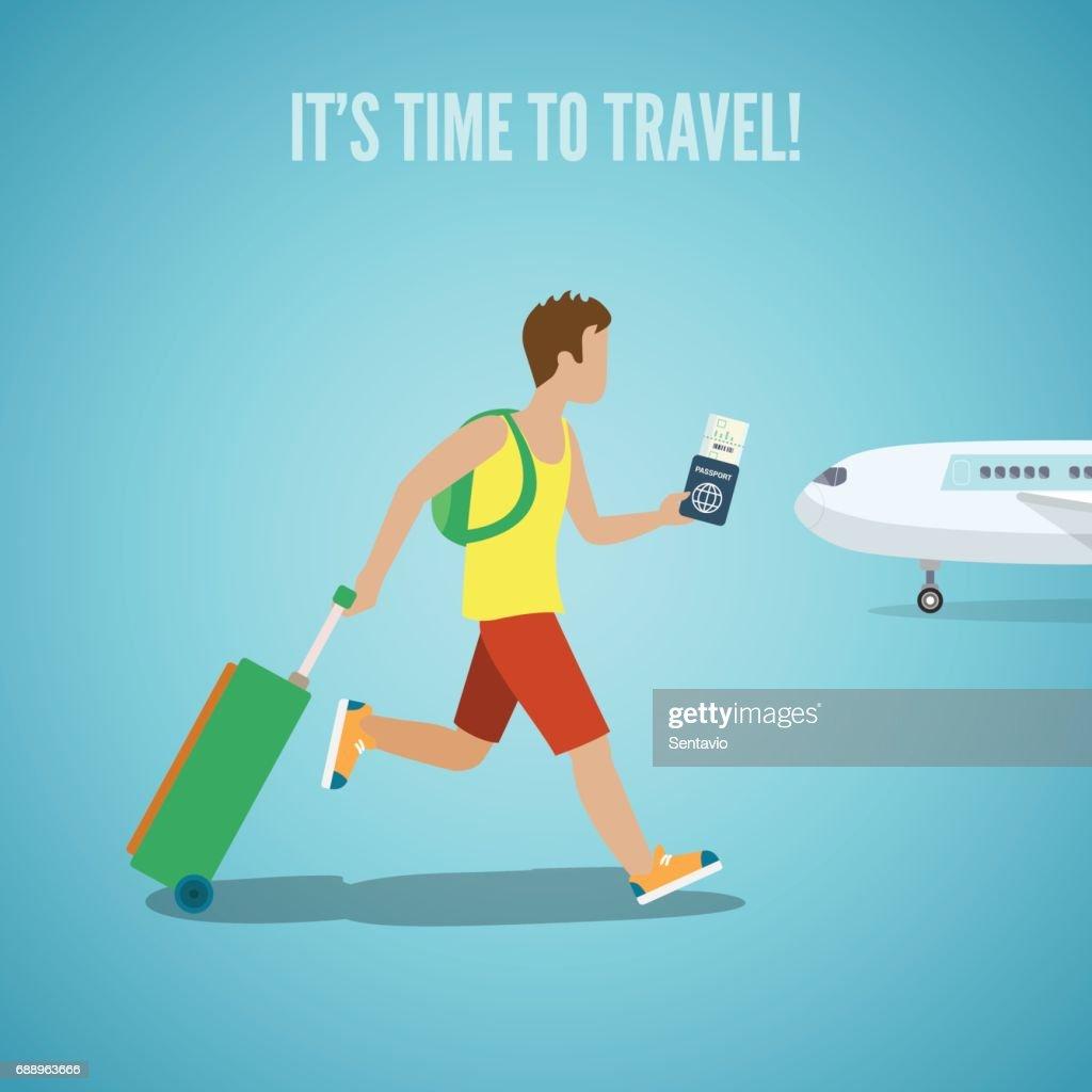 Zeit Für Reisebürowebsite Flyer Broschüre Urlaub Tourismus ...