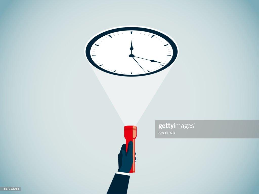 time : stock illustration