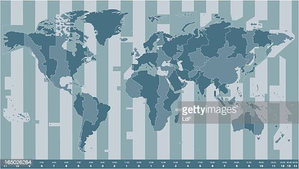 Time zones World Map