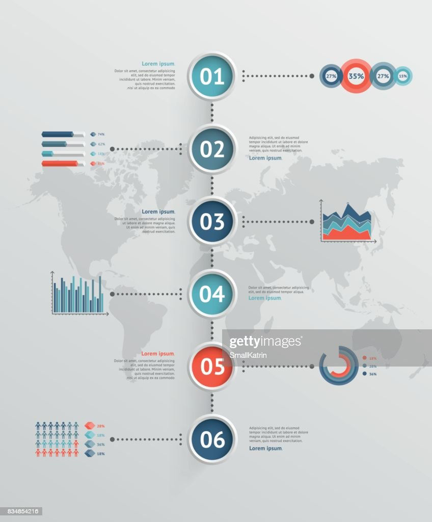 Timeline vector infographic world map vector art getty images timeline vector infographic world map vector art gumiabroncs Images
