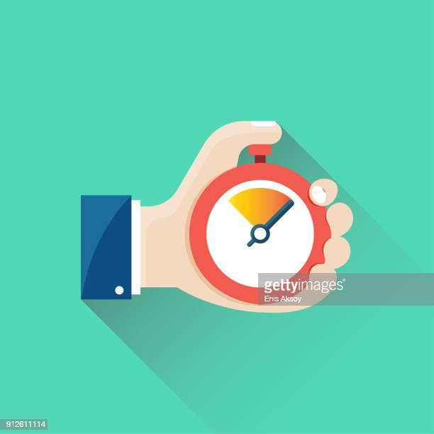 Timepiece Flat Icon
