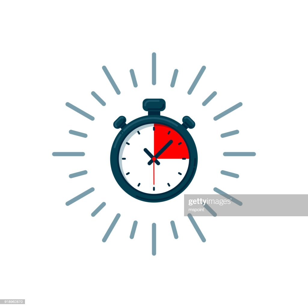 Timer icon. Fast time. Fast delivery, express and urgent shipping, services, stop watch speed concept, deadline, delay. chronometer sign