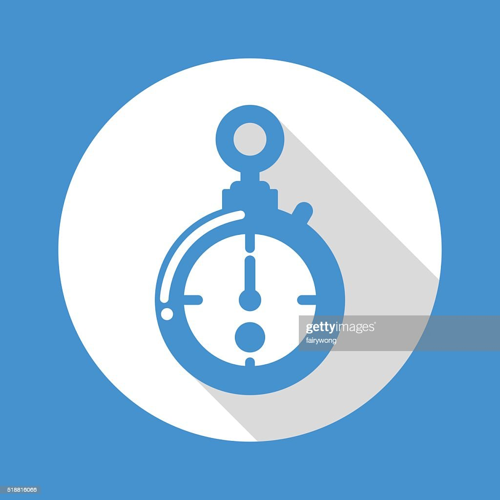 Timer Icon stock illustration - Getty Images
