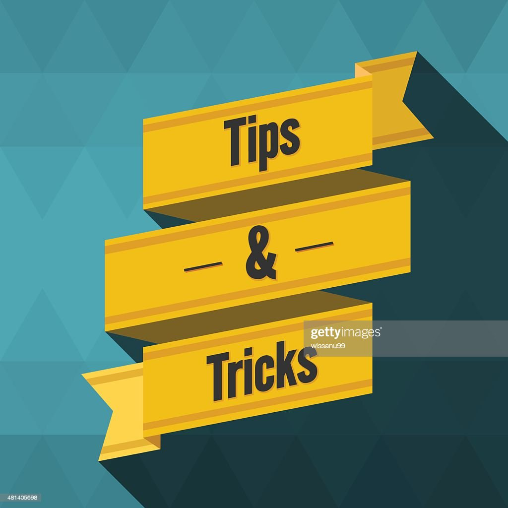 Tips and tricks ribbon design