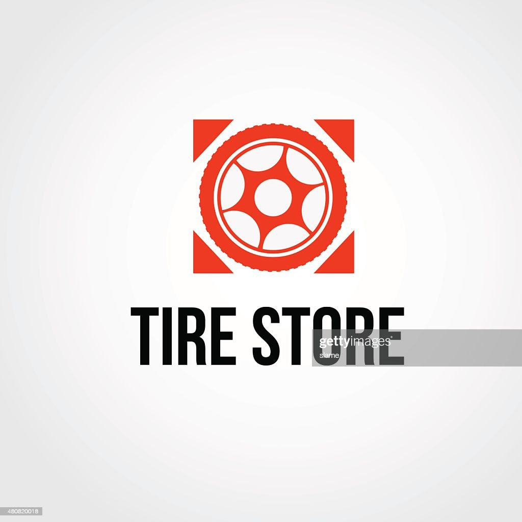 Tire service or shop