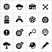 Tire Shop Icons