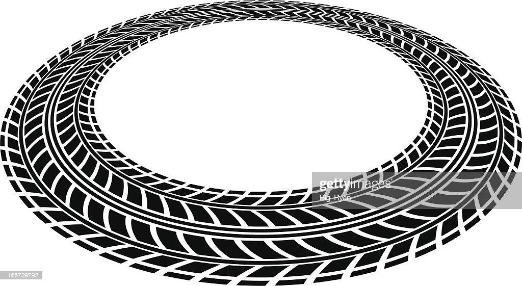 tire tread circle vector art getty images rh gettyimages com tire tread vector image tire tread vector brush