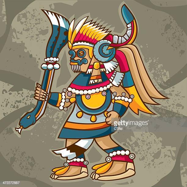 Tlaloc (mexikanische Gott des Regen und Fruchtbarkeit