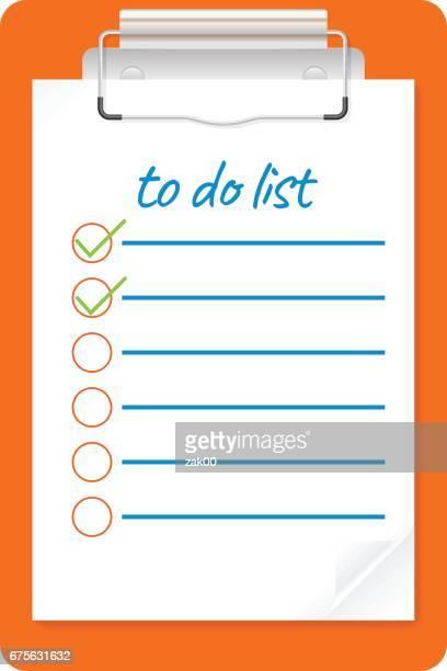 to do listのベクターイラストとグラフィック素材 getty images