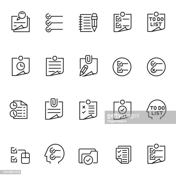 to do listのイラスト素材と絵 getty images