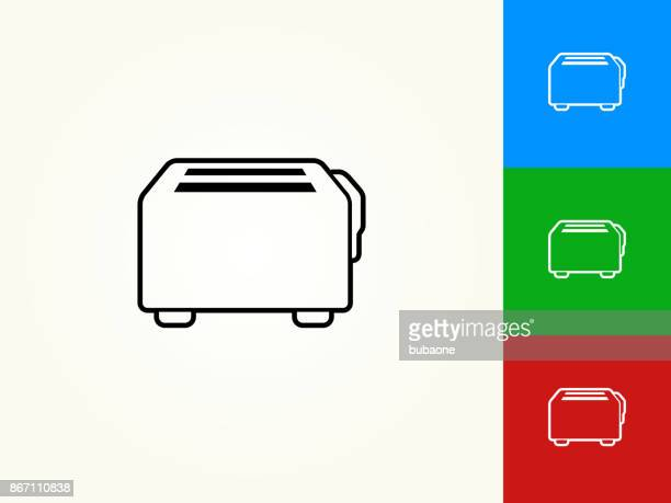 Toaster Black Stroke Linear Icon
