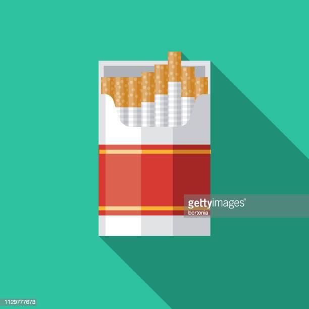 ilustraciones, imágenes clip art, dibujos animados e iconos de stock de icono de drogas tabaco cigarrillos - cigarrillo