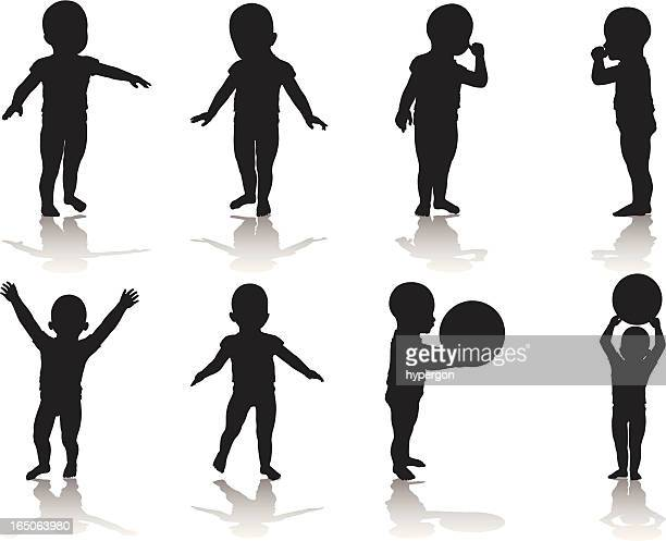 Toddler Silhouette Collection