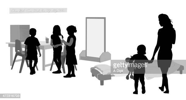 togetherness - mirror object stock illustrations
