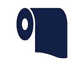 toilet glyph icon