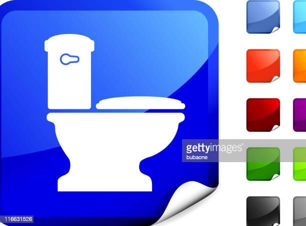 Casa de banho internet Arte vectorial royalty-free