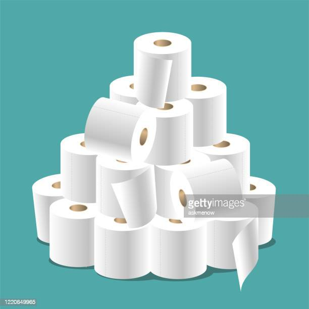 トイレットペーパー - トイレットペーパー点のイラスト素材/クリップアート素材/マンガ素材/アイコン素材