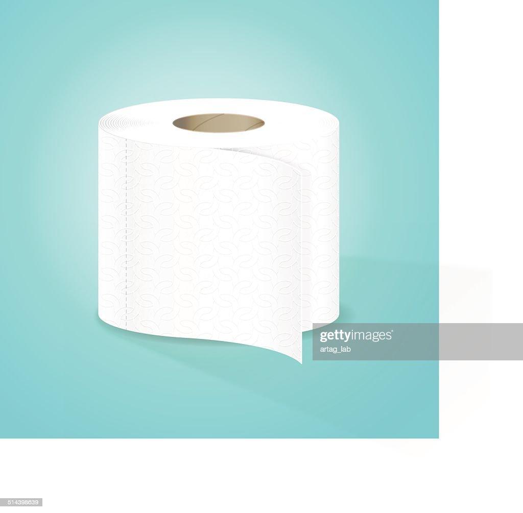 Toilet Paper Vector Illustration