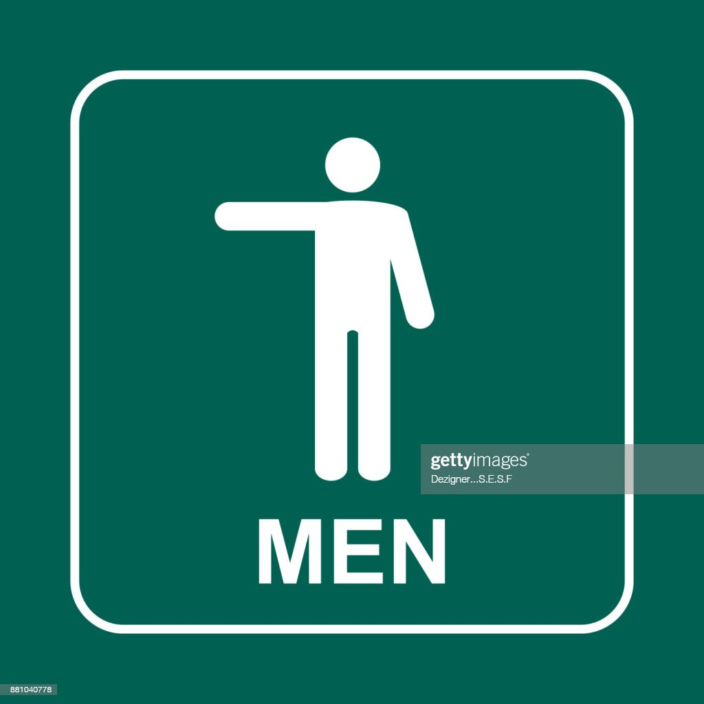 Image of: Men S Bathroom Sign Vector For Men Bathroom Sign Vector Interesting Toilet Wc Vector Art Inside Men Bathroom Sign Vector Vector Mens And Womens Disabled