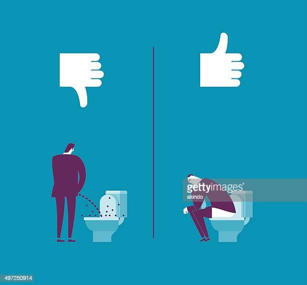 ilustraciones, imágenes clip art, dibujos animados e iconos de stock de lavabo - orina