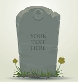 Tombstone rectangular