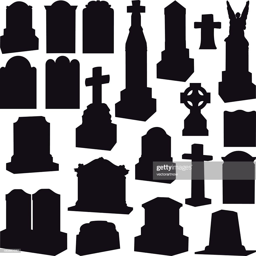 Tombstones, Headstones, Gravestone and Crosses
