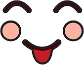 tongue out happy face emoji icon image