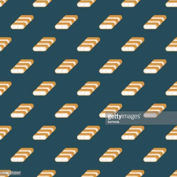 ilustrações de stock, clip art, desenhos animados e ícones de tonkatsu japanese food pattern - tonkatsu