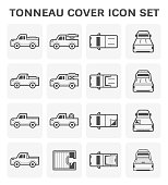 Tonneau cover icon