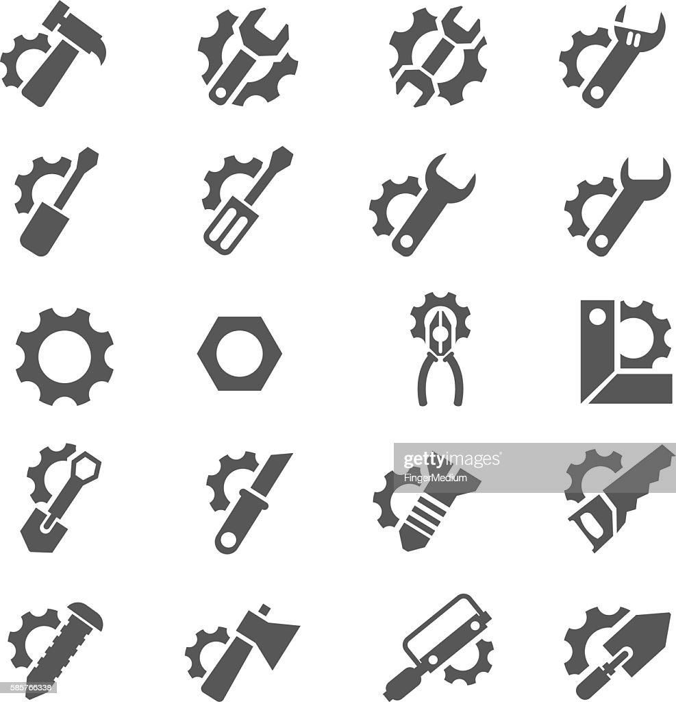 Tool sign icon