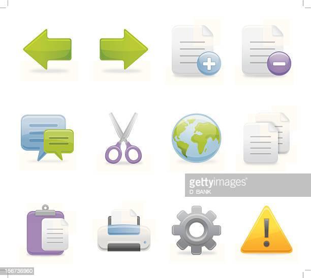 Toolbar Icons -  Set 2 | Soft Series